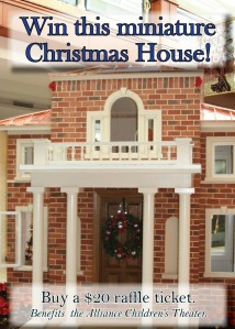 Win this miniature Christmas House
