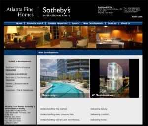 New Developments at Atlanta Fine Homes