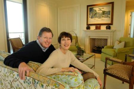 Rick and Holly Wolfert chose the Mansion on Peachtree in Buckhead for their second home; and, because the building was not finished when they bought their condo, they were able to tweak the design.