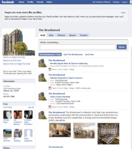 Brookwood Facebook Page