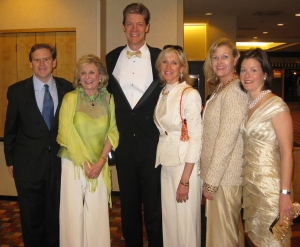 (L to R) George Heery, Jenny Pruitt, David Boehmig, Margaret Cox, Tina Hunsicker, Janet Blanton