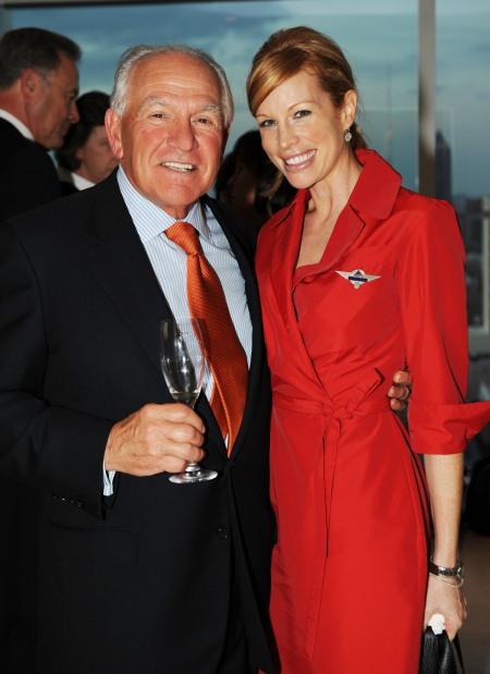 """Hal Barry and Delta flight attendant Katherine """"Deltalina"""" Lee"""