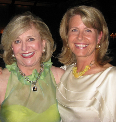 Jenny Pruitt and Carmen Pope at the Atlanta Board of REALTORS Million Dollar Club Gala
