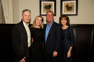 (Left - Right)  Brett Butler (MLB All-Star and Former Atlanta Braves Player), Lydia Mondavi (founder of 29 Spa), Paul Donahue and Suzanne Dils (Atlanta Fine Homes Sotheby's International Realty).