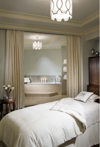 Spa Room by 29 Spa founder Lydia Mondavi