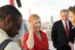 Deltalina in interviews after Atlanta Helipad Inauguration
