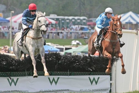 Atlanta Steeplechase with The W Downtown as sponsor