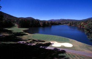 Big Canoe's Lakeside Golf Course
