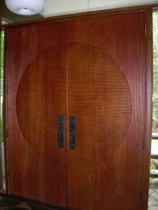 Custom-designed doors from Brazil
