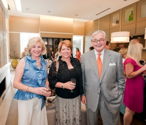 From left, Atlanta Fine Homes Sotheby's International Realty CEO and co-founder Jenny Pruitt and top agents Suzanne Close and Wes Vawter.