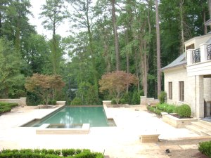 421 Blackland Road in Buckhead ~ Infinity Pool