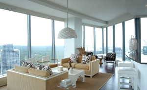Living Area in the PIECES model at Sovereign