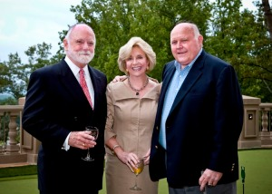 (L to R) Kell Martin, Chairman, First Fidelity Mortgage Corporation; Jenny Pruitt, CEO and Founder, Atlanta Fine Homes Sotheby's International Realty; Taz Anderson, Chairman and Founder of Taz Anderson Realty Co.,
