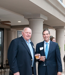 Taz Anderson, Chairman Taz Anderson Realty Co., and Philip White, COO of Sotheby's International Realty