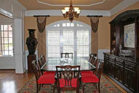 7735 Marsh Court ~ Dining Room Before Staging
