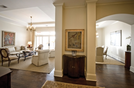 Aberdeen Living and Dining Rooms