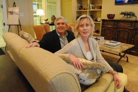 Leigh and Allen Builder considered a single-family house before buying their condo at The Aberdeen. Christopher Oquendo SpecialChristopher Oquendo/AJC Special