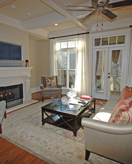 Brownstones at Honour ~ Living Room