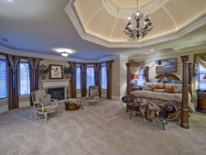 The Master Bedroom Suite