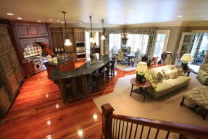 Gourmet Kitchen and Keeping Room