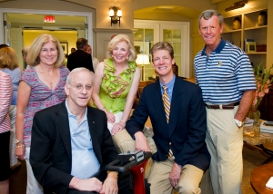 Linda and James Shephard, a co-founder of Shepherd Center and the inspiration for its establishment, with Jenny Pruitt, CEO and David Boehmig, President of Atlanta Fine Homes Sotheby's International Realty and Shepherd Center Medical Director Dr. Don Leslie