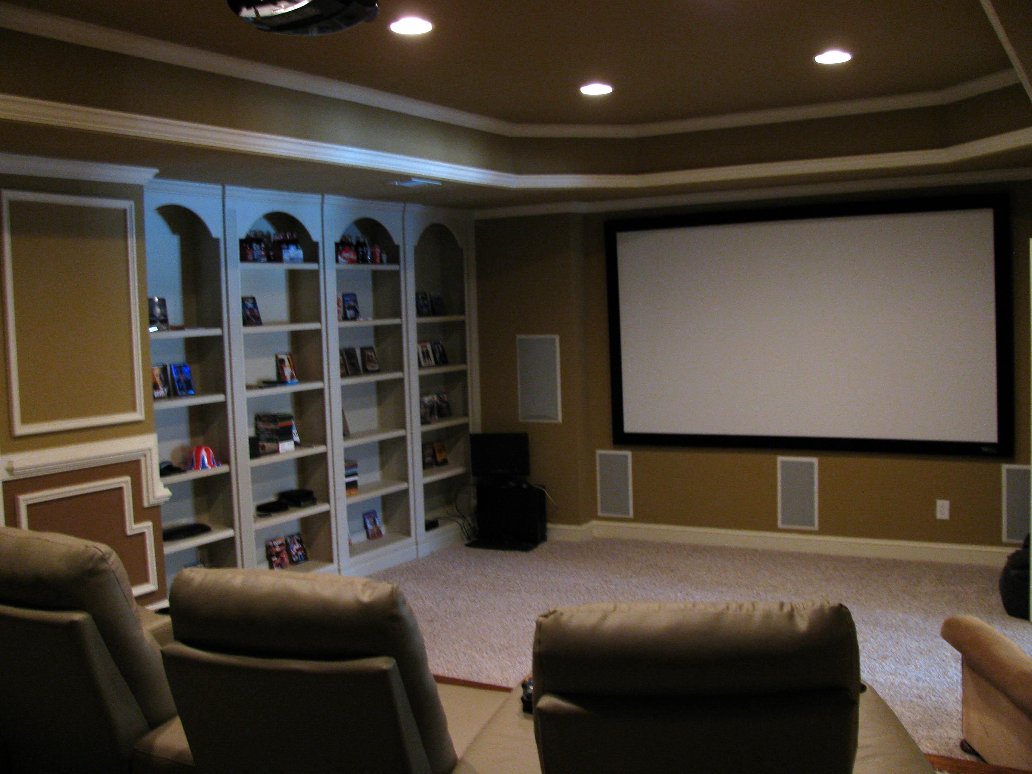 Featured Homes Atlanta Fine Homes Sothebys International Realty - Media room sofa